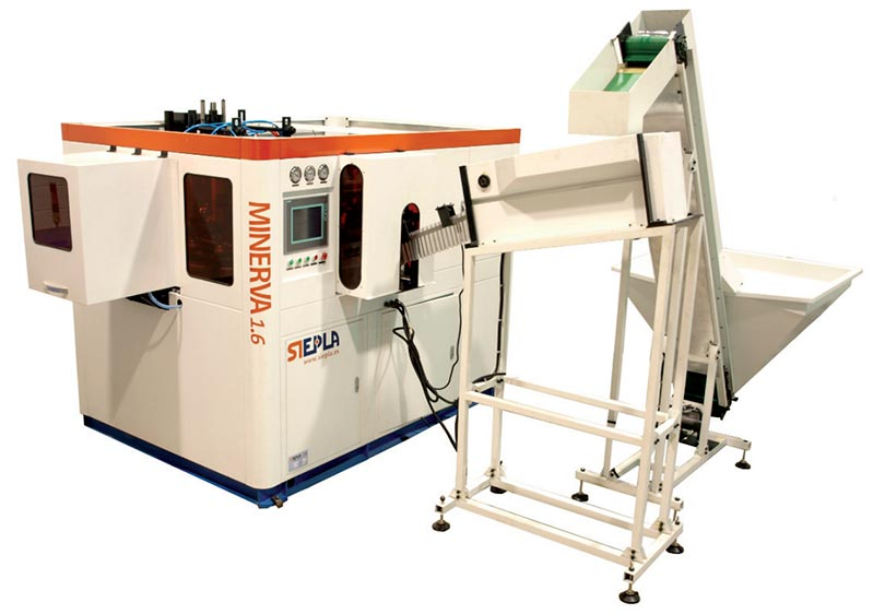 Sistema automático de control de temperatura en sopladoras PET Minerva